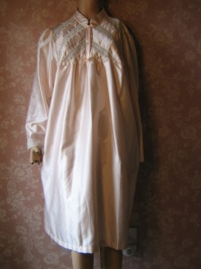 Vintage Barbizon Cuddleskin Satin Nightgown vintageoutlet