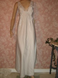 Vintage barbizon nightgown embroidered nwt vintageoutlet